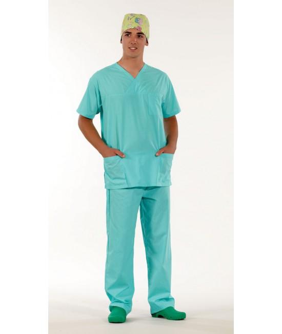 Унисекс хирургически медицински комплект с къс ръкав - резида