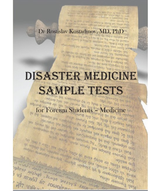 Disaster Medicine Sample Tests for Foreign Students - Medicine