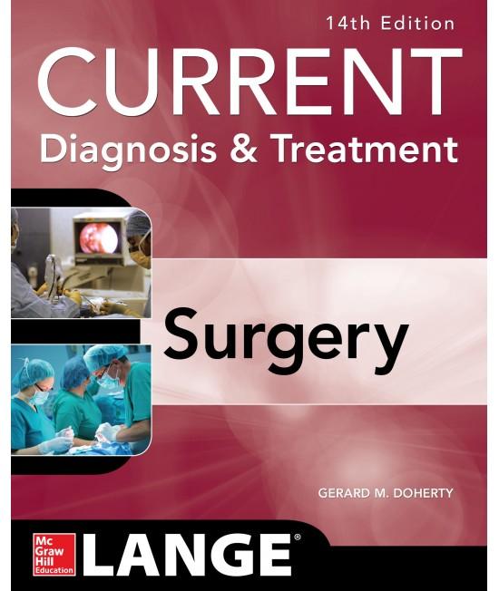 Current Diagnosis & Treatment - Surgery 14 edition